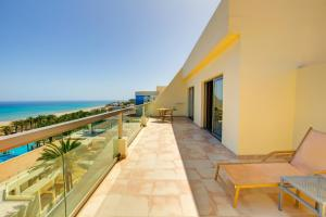 A balcony or terrace at SBH Costa Calma Palace Thalasso & Spa