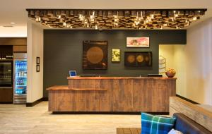 The lobby or reception area at SpringHill Suites by Marriott Bend