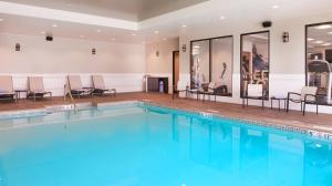 The swimming pool at or near SpringHill Suites by Marriott Bend