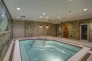 The swimming pool at or near Banff Inn