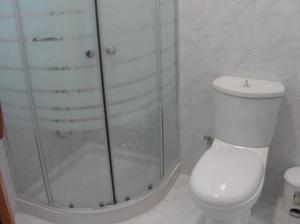Salle de bains dans l'établissement Vacances au Soleil