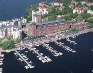 Ett flygfoto av Holiday Club Tampere Spa