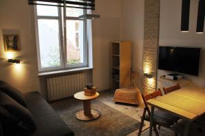 Część wypoczynkowa w obiekcie Apartament Cracow