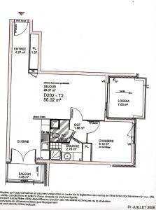 The floor plan of Apartment Eden