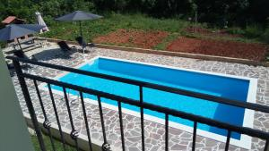 A view of the pool at Apartment Adriatic or nearby