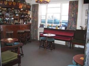 The lounge or bar area at Maltings Hotel