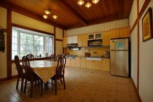 長白山農場 廚房或簡易廚房