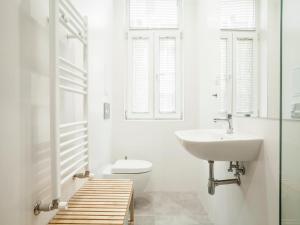 A bathroom at Sofia center apartment