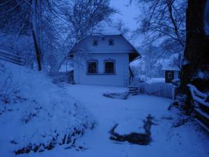 Historický objekt Ailit v zime