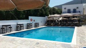 The swimming pool at or near Irene Village
