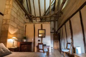 Coin salon dans l'établissement Gîte Dordogne