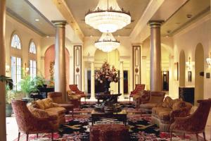 The lobby or reception area at Bourbon Orleans Hotel