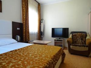 Кровать или кровати в номере Guest House Centre
