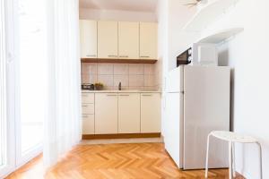 A kitchen or kitchenette at Apartments Tomislav Primorska
