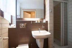 Łazienka w obiekcie Hotel Diament Ustroń