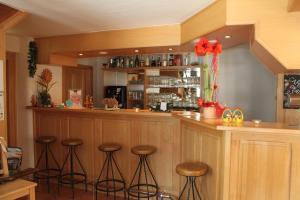 Lounge oder Bar in der Unterkunft Zur Auszeit