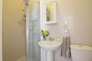 A bathroom at Mansfield Apartment