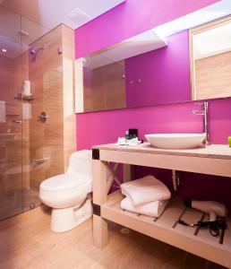 A bathroom at Mika Suites