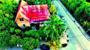 Una vista aérea de Villa Margarita