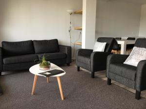 A seating area at Residence het Centrum