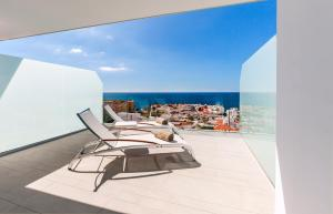A balcony or terrace at Royal Hideaway Corales Beach - Adults Only, by Barceló Hotel Group