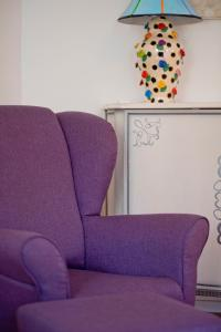 A seating area at Rooms Zagreb 17