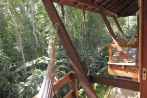 A balcony or terrace at Pousada Todas as Luas