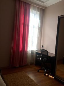 Кровать или кровати в номере Отель на Сорокина
