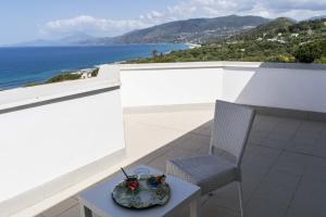 A balcony or terrace at Hotel Baia