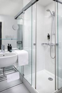 디자인 메트로폴 호텔 프라하 욕실