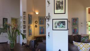 The lobby or reception area at Forest Nest