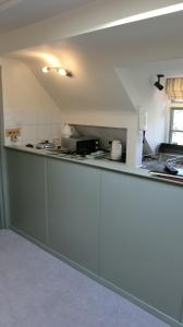 A kitchen or kitchenette at The Haven at Talysarn