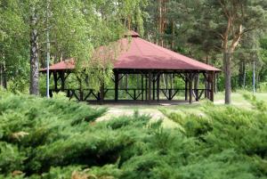 Obiekt Perła Leśna Nadarzyn zimą