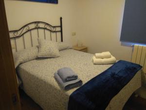 Cama o camas de una habitación en La Maria Diego