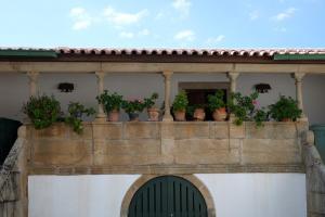 Uma varanda ou terraço em Quinta da Calçada