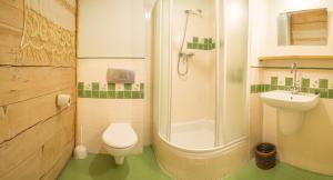 Łazienka w obiekcie Zagroda Kuwasy
