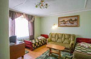 A seating area at Orysya