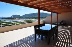 Een balkon of terras bij Résidence Salina Bay