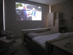 Een bed of bedden in een kamer bij Design B&B Logidenri