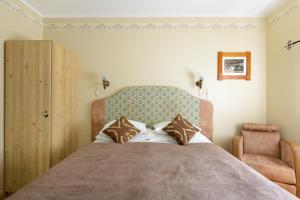 Кровать или кровати в номере Hansalinn