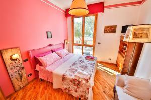 Cama ou camas em um quarto em Baronessa B&B Florence