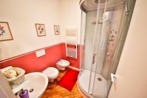 Um banheiro em Baronessa B&B Florence