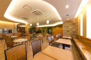 A restaurant or other place to eat at R&B Hotel Umeda East