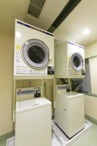 A kitchen or kitchenette at R&B Hotel Umeda East