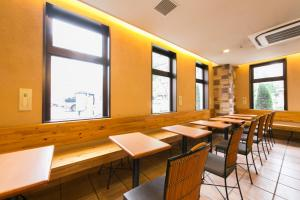 A restaurant or other place to eat at R&B Hotel Kyoto Station Hachijoguchi