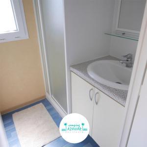 Een badkamer bij Camping Azahar