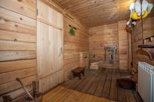 Ванная комната в Dom na Teletskom
