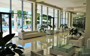 The lobby or reception area at Apartment In Ideal House 3