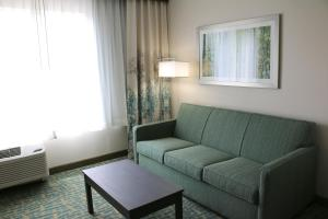 A seating area at Holiday Inn Express & Suites - Hendersonville SE - Flat Rock