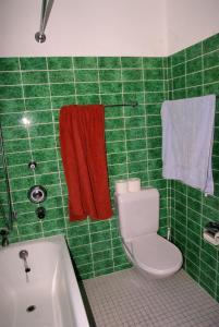A bathroom at Ferienwohnung in Davos